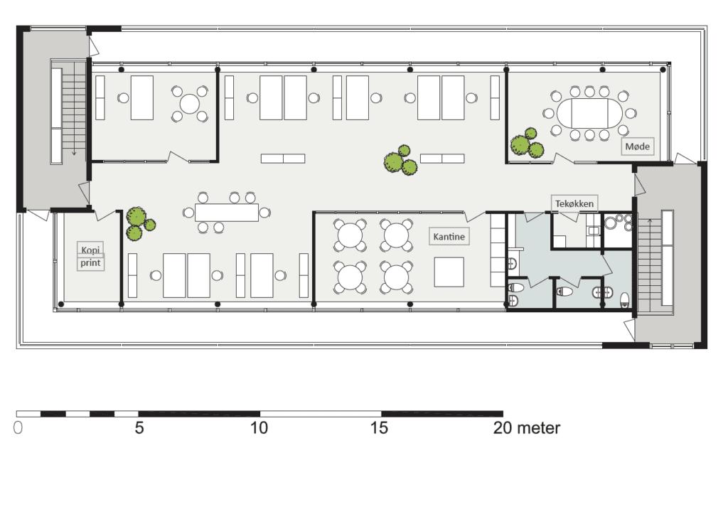 Plantegning - Bådehavnsgade 2C, 2.sal 2450 København SV